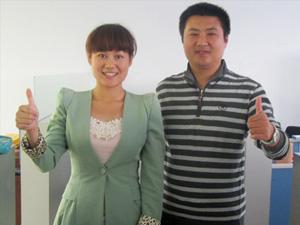 豪杰塑膠制品廠-劉總夫婦
